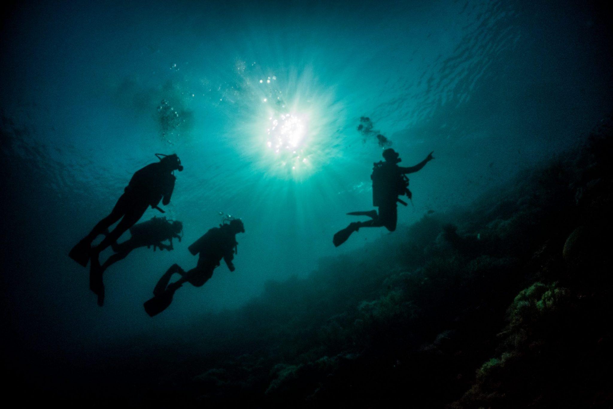 curso de open water, aguas abiertas