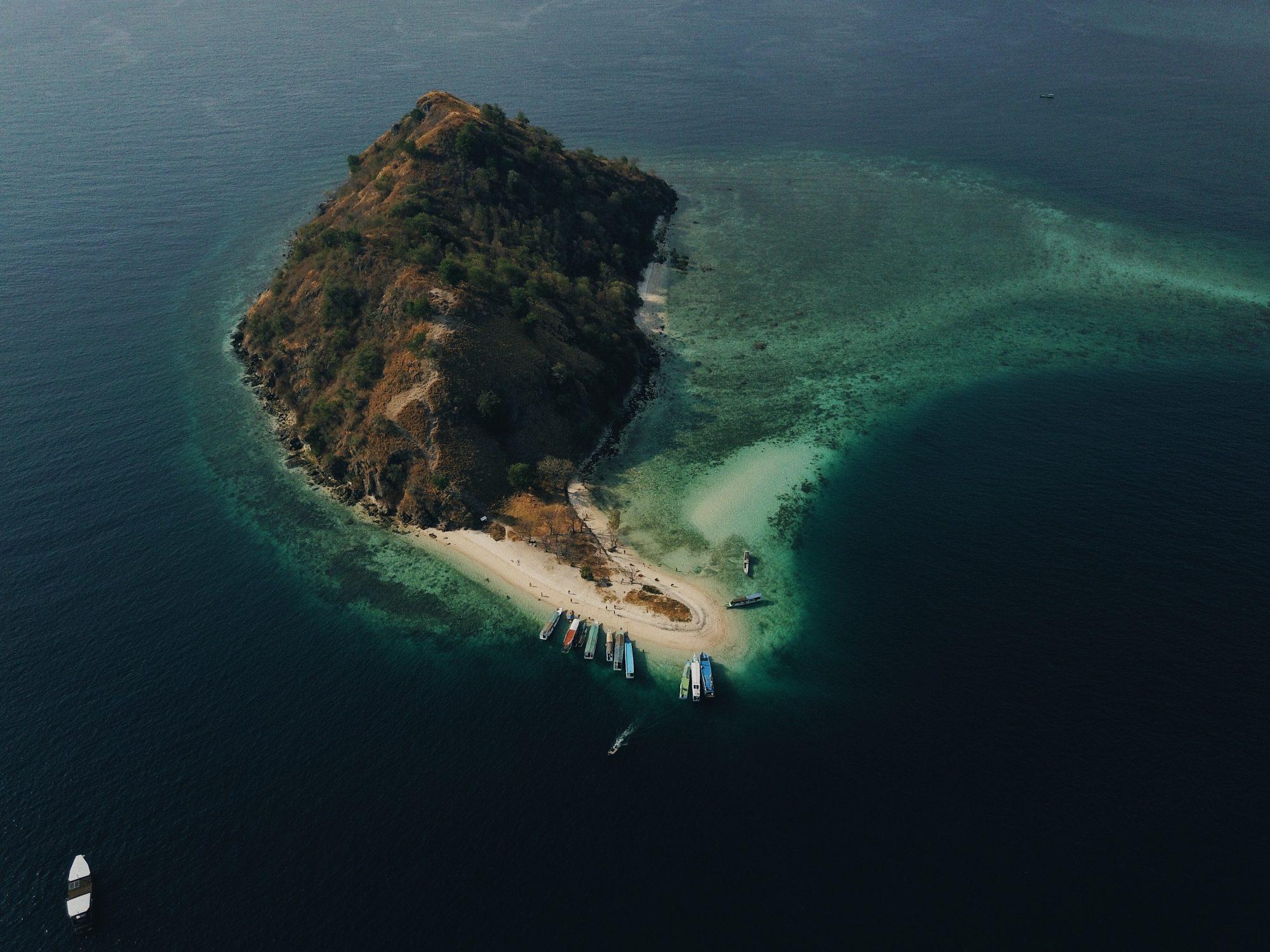 Isla de Kelor, komodo