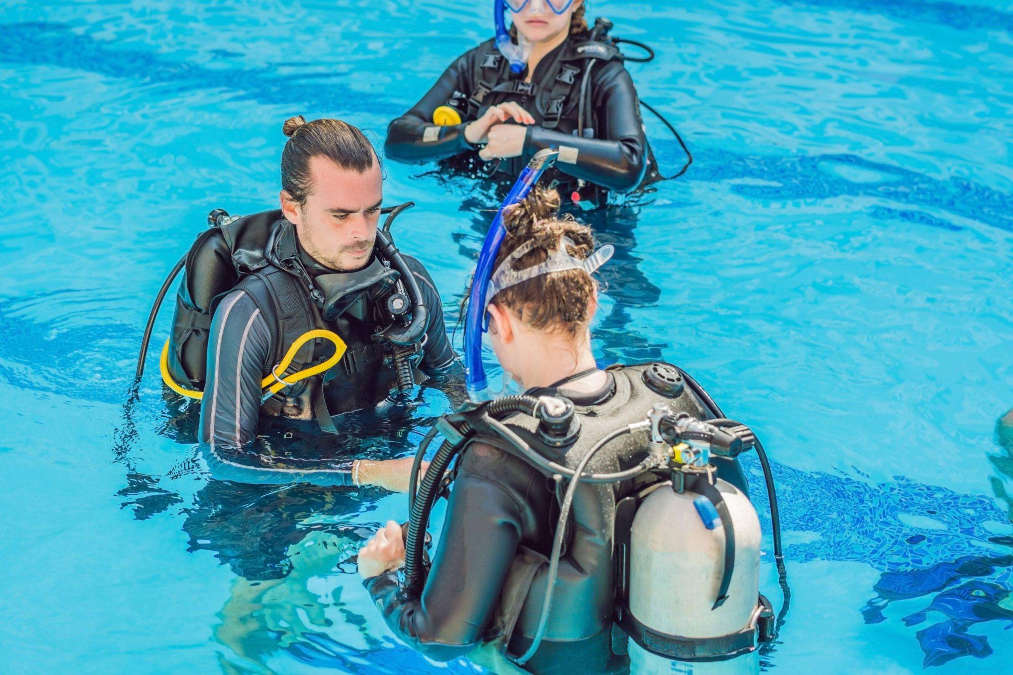 consejos curso open water, instructor