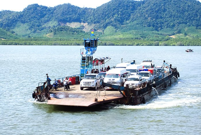 ferry de coches Koh Lanta