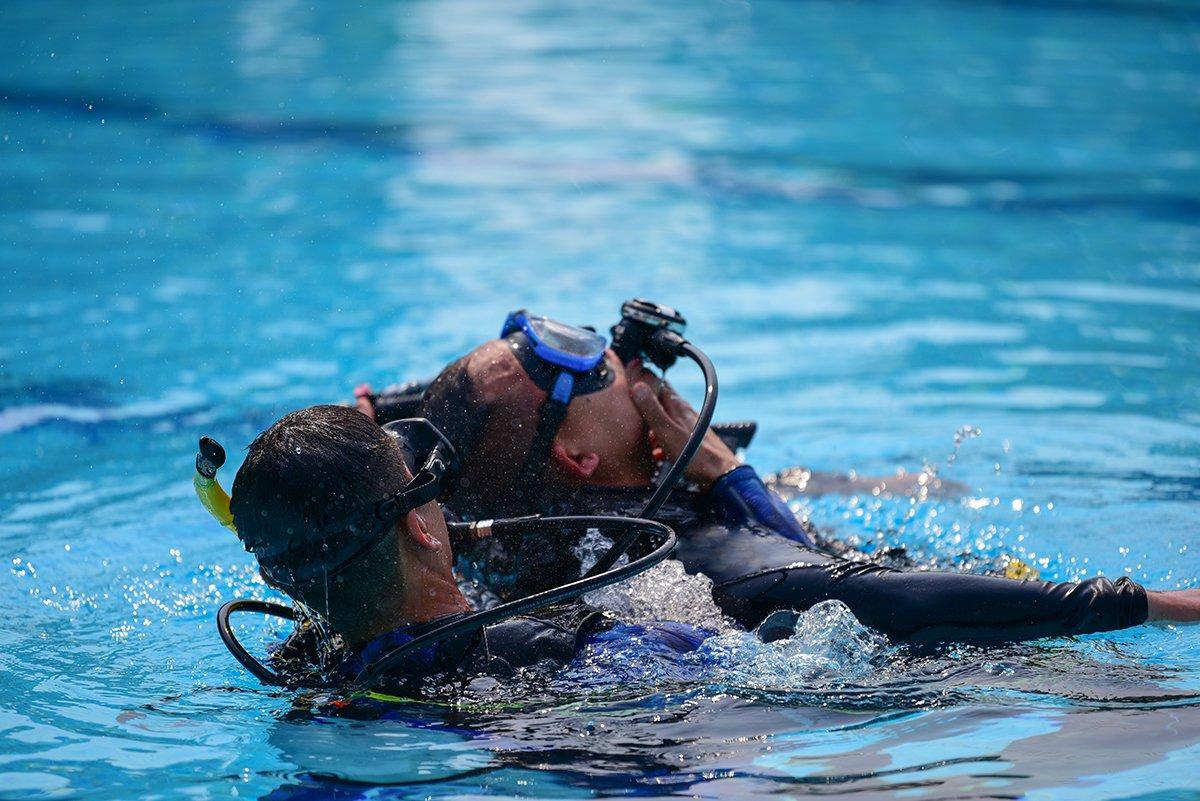 consejos curso de rescate, instructor