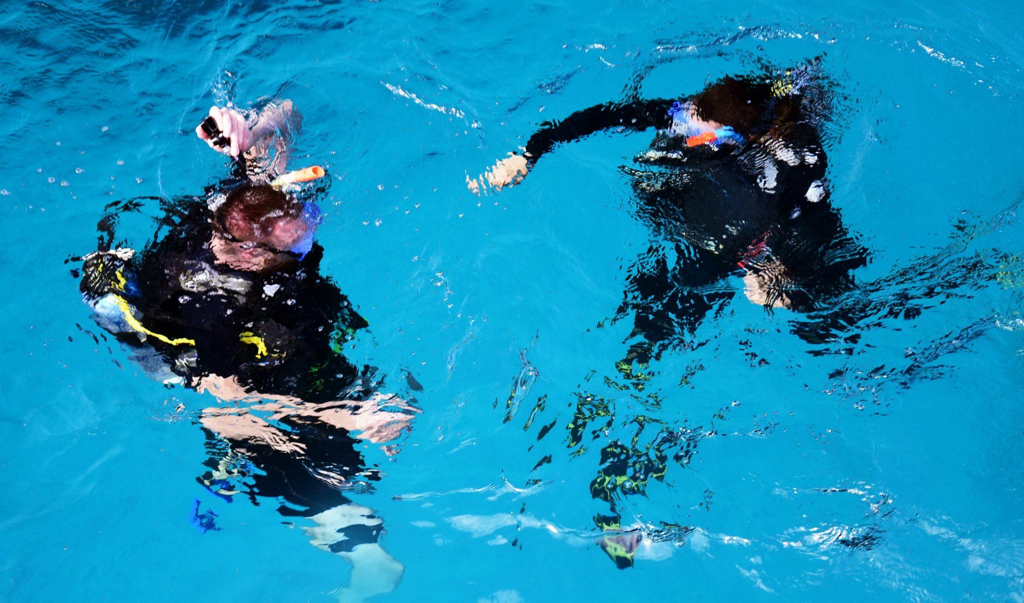 consejos curso open water, descenso