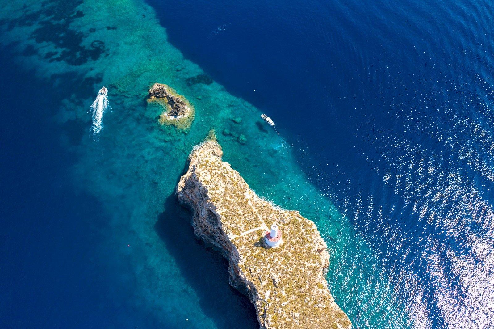 buceo en reserva marina de el toro, mallorca