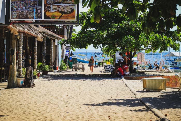 buceo malapascua playa