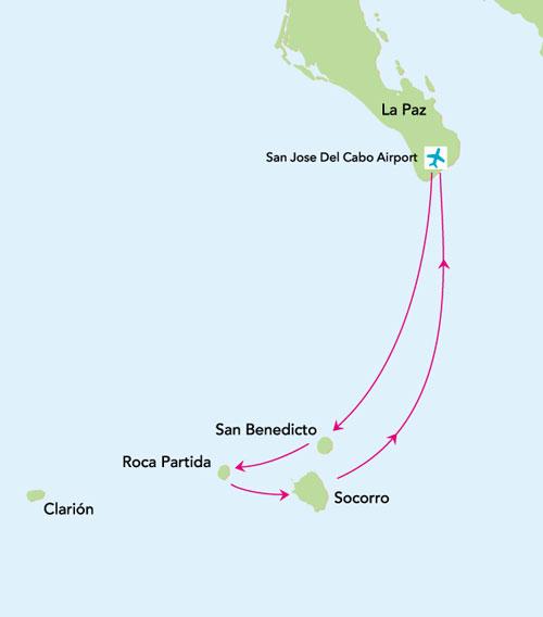 itinerario buceo en socorro